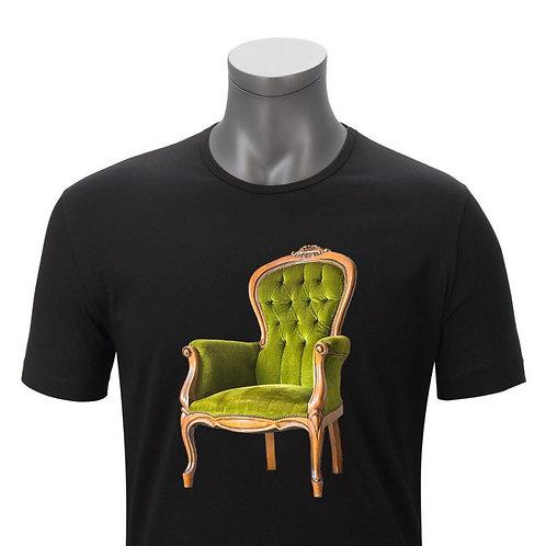Playera de sillón negra