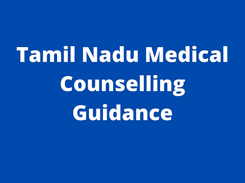 Tamil Nadu Medical Counselling Guidance