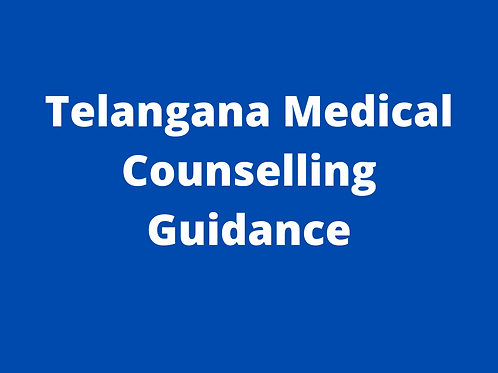 Telangana Medical Counselling Guidance