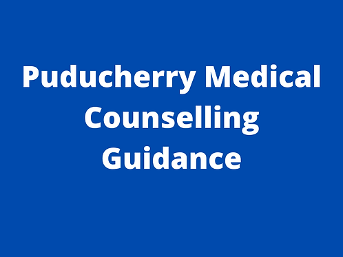 Puducherry Medical Counselling Guidance