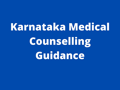 Karnataka Medical Counselling Guidance