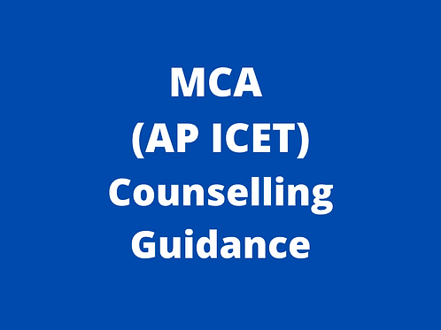 MCA AP ICET Counselling Guidance