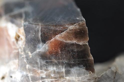 7656-И  Нефелин, солнечный и лунный камень