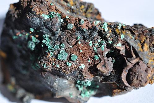 8037-ББ Малахит, лимонит
