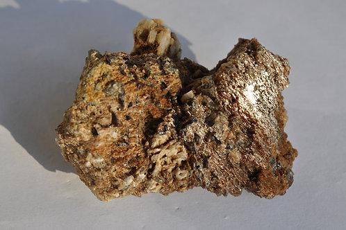 7594-ж,  Сросток альбита, кварц, пегматит