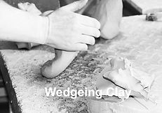 Wedgeing Clay