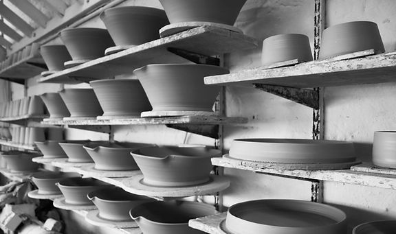 Pots Drying