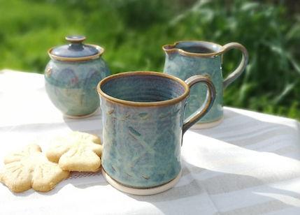 Mug, Suger and Creamer