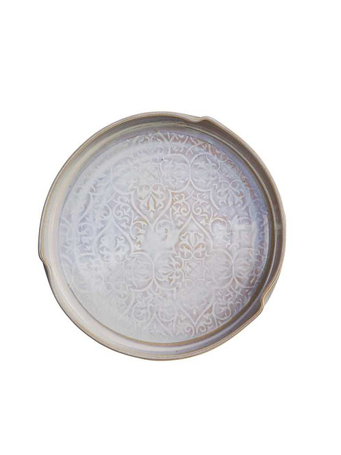 Oileán Serving Dish White