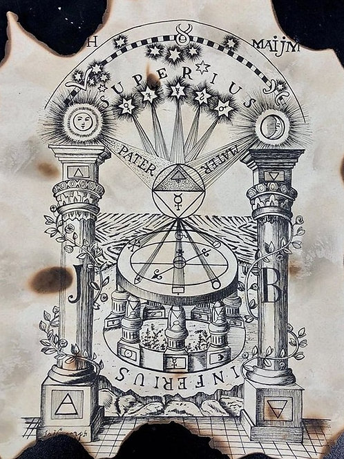 Alchemy Diagram