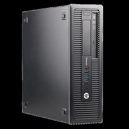 Computador HP EliteDesk 800G1, i3 4ªG, 4GB, 500GB, Windows 7 Pro