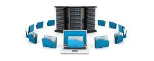 ilustração de um servidor virtual private