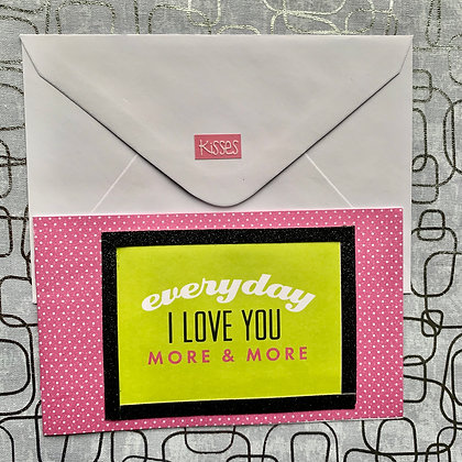 Blank Love Greeting Card