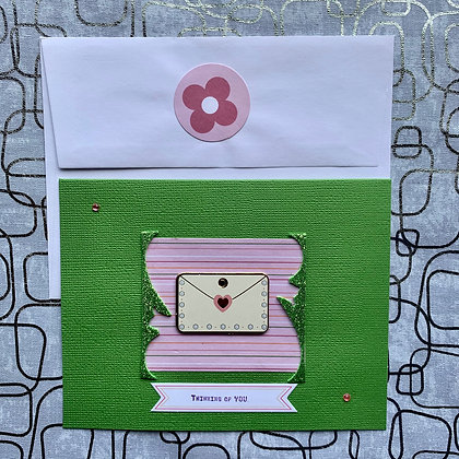 Blank Thinking of You Greeting Card
