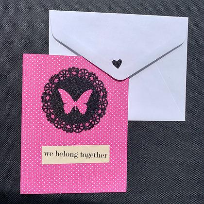 Blank Anniversary Greeting Card