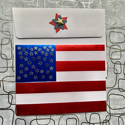 Blank Welcome to America Greeting Card