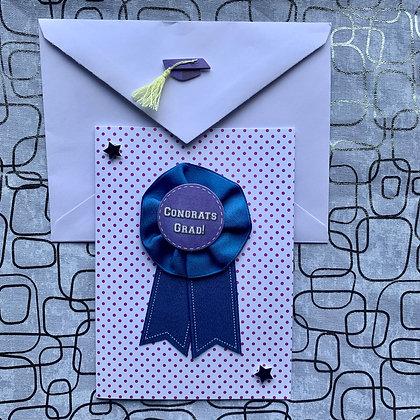 Blank Graduation Greeting Card