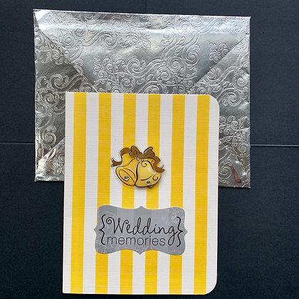 Blank Wedding Greeting Card