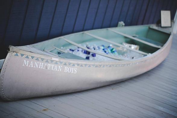 Manhattan Boys Canoe