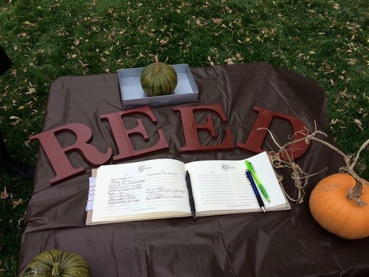 Reed guestbook