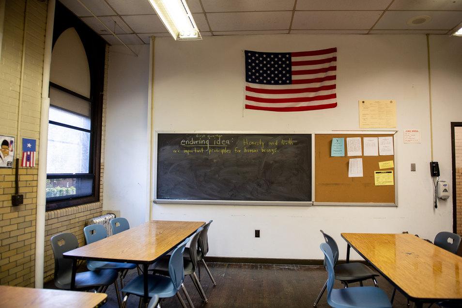 Penn Treaty School Classroom
