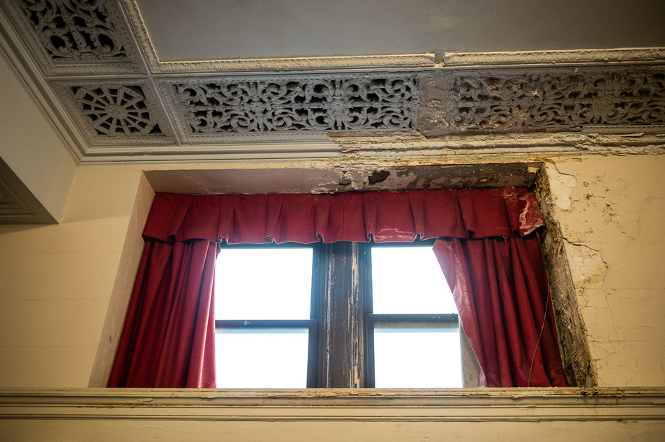 Penn Treaty School Plaster Damage