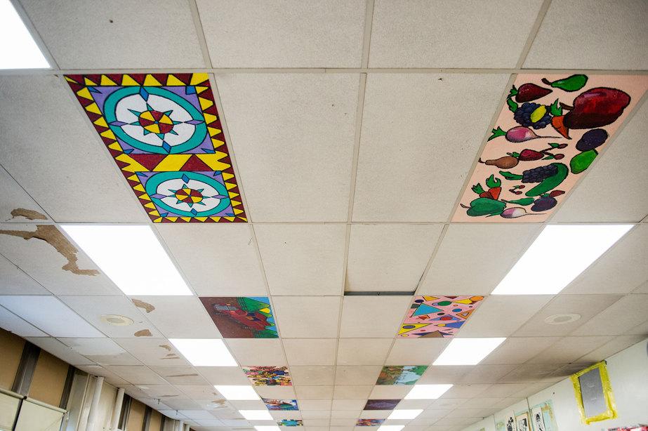 Penn Treaty School Student Painted Tiles