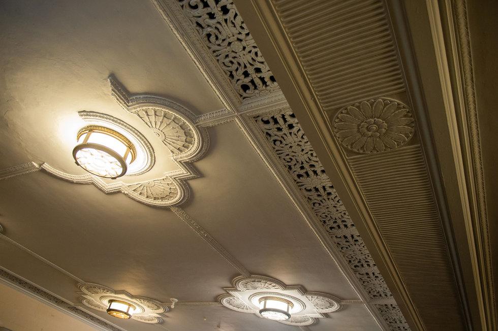 Penn Treaty School Plaster Detail