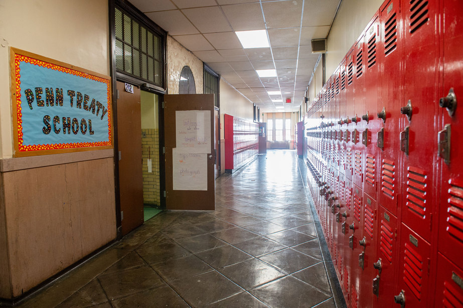 Penn Treaty School Hallway
