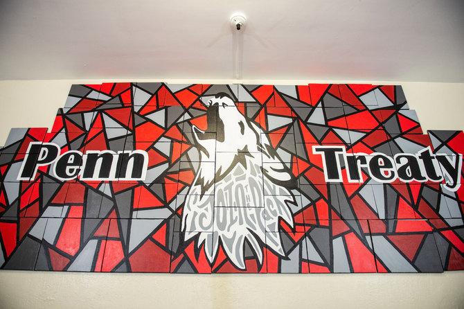 Penn Treaty School Mural