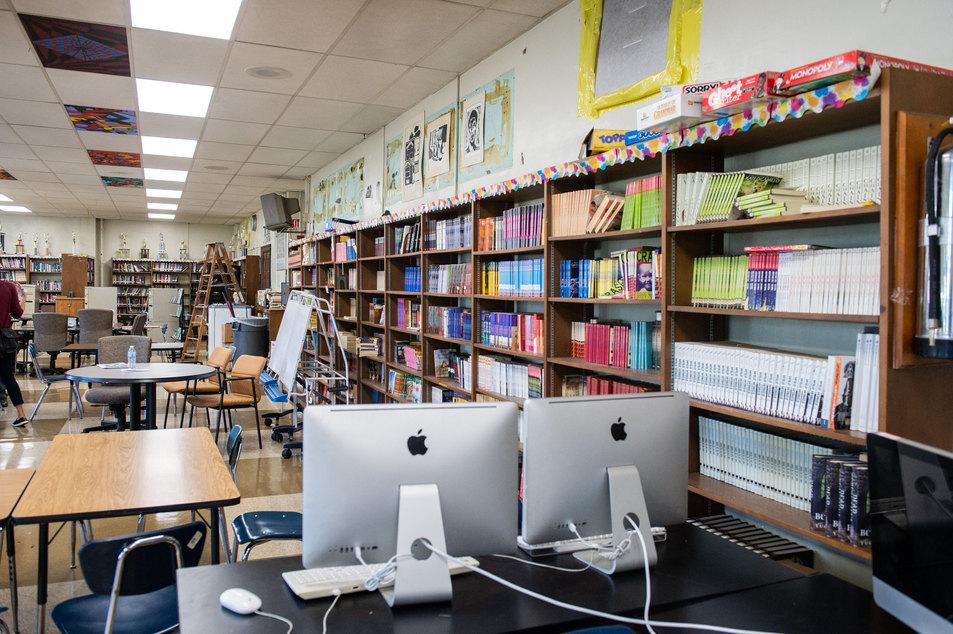 Penn Treaty School Library