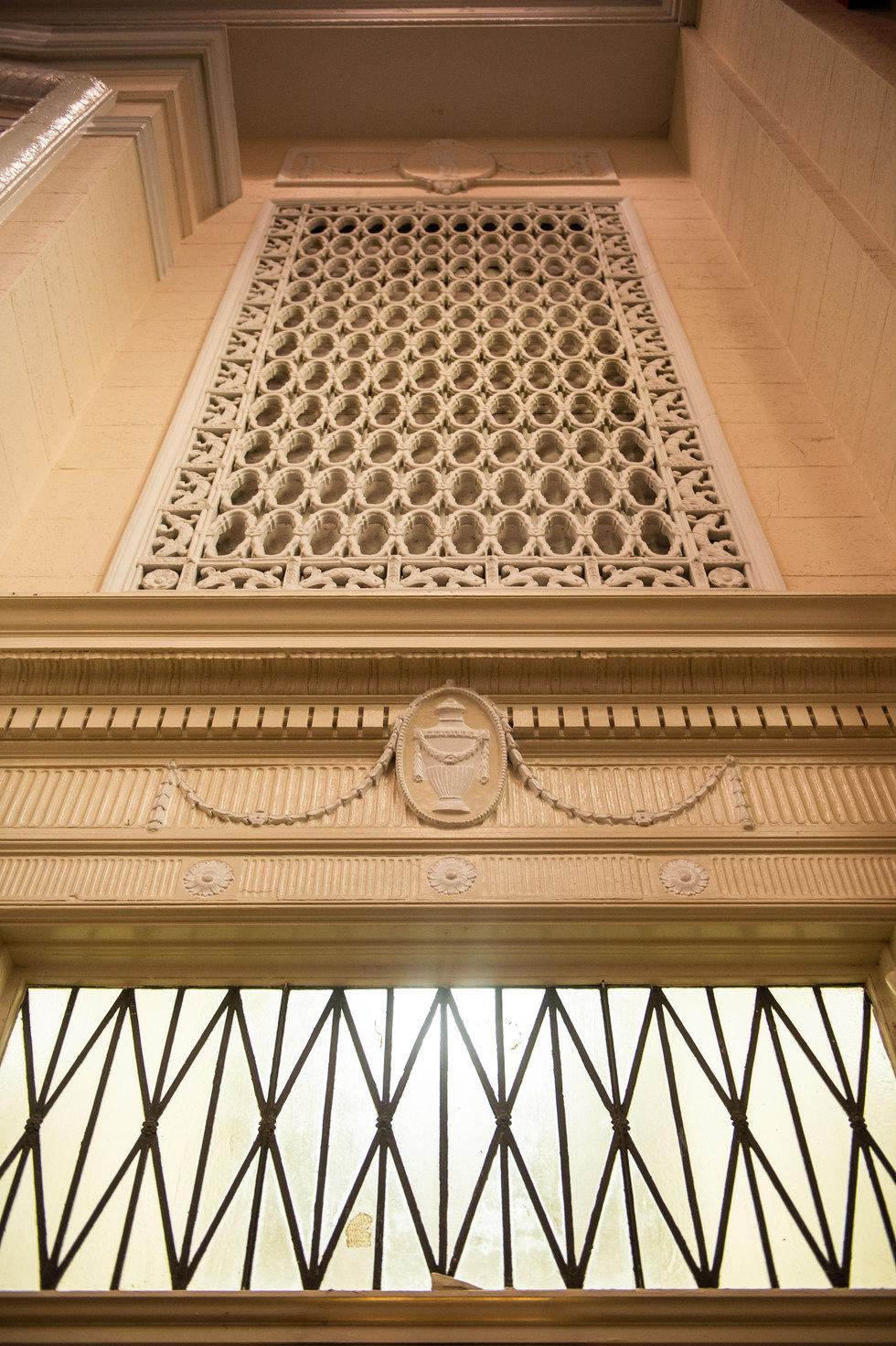 Penn Treaty School Iron Detail