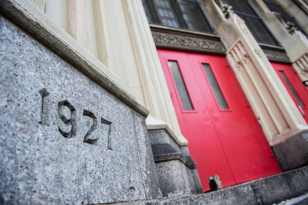 Penn Treaty School Cornerstone