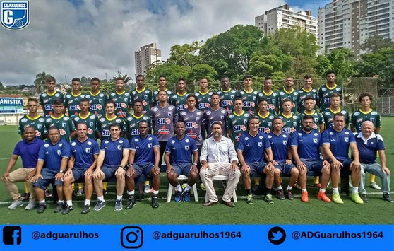 AD Guarulhos apresenta equipe para a Copa SP 2018