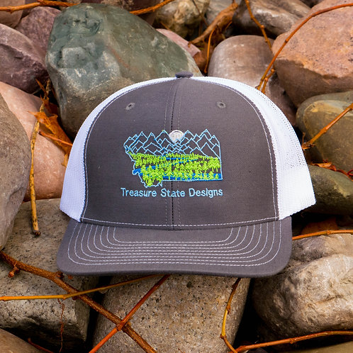 Montana Moonlight Snap Backs