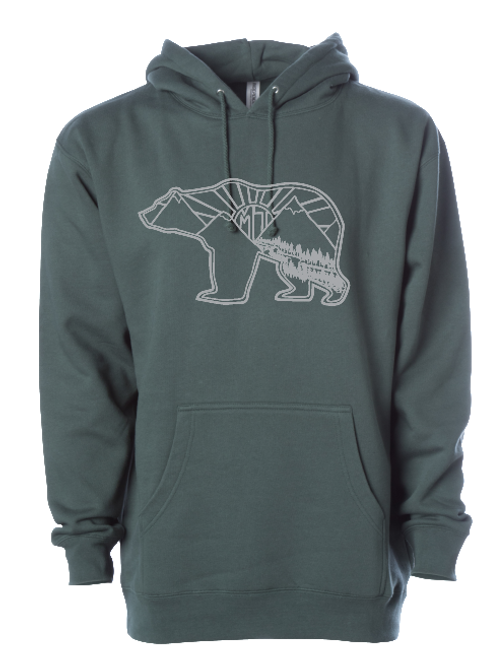 Griz of the Rising Sun Heavy Weight Hoodie