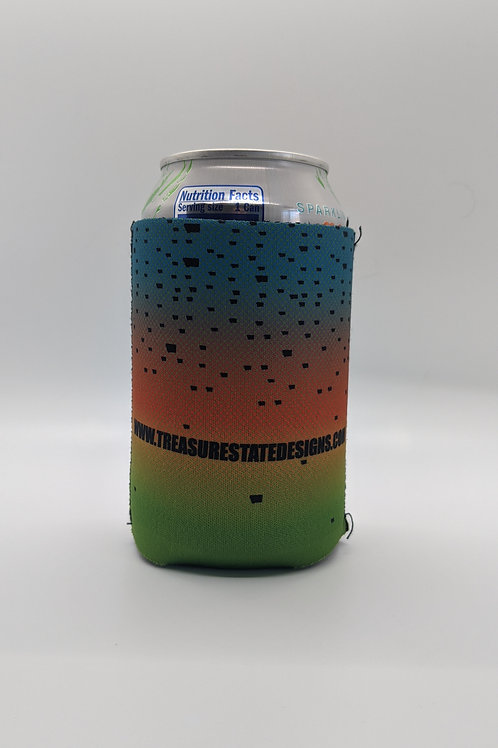Fishkin MT Rainbow Trout Koozie