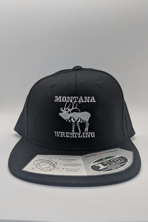 Team MT Wrestling Black Flatbill Hat