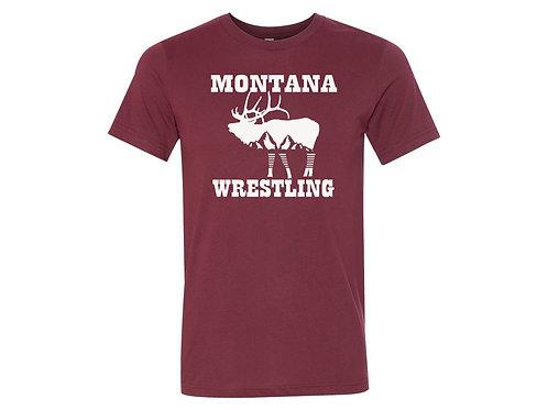 Team Montana Red Tee