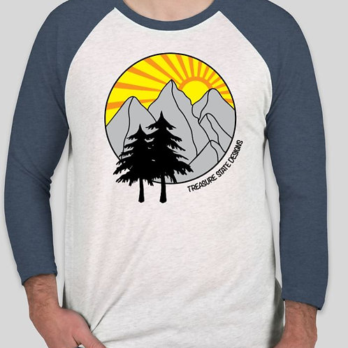 MT Sunset Raglan Tee