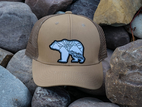 Griz of the Rising Sun Structured Snapbacks