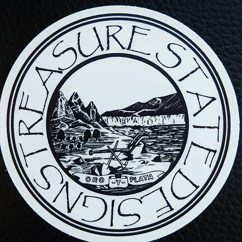 MT Seal Die Cut Sticker