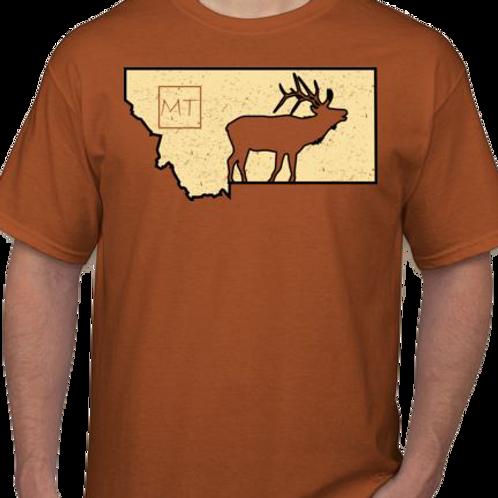 MT Elk Tee