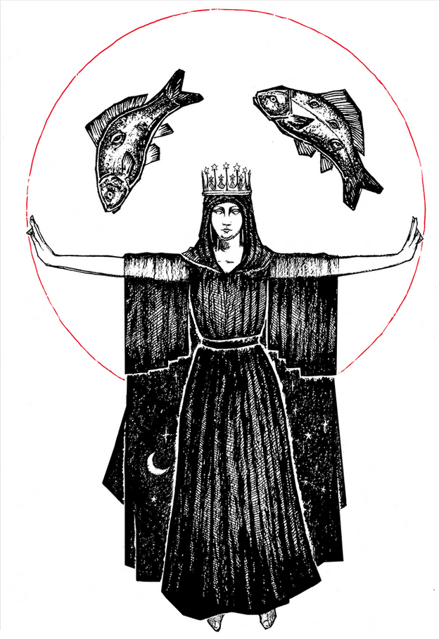 pisces_zodiac_drawing_Micah_Ulrich_Poste