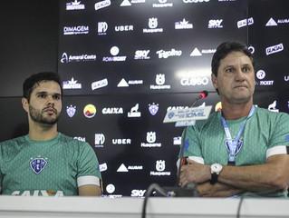 Ao lado de João Brigatti, Alex Nascif se apresenta ao Paysandu