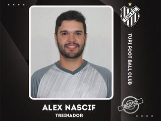 Alex Nascif será o Treinador do Tupi no Módulo 2