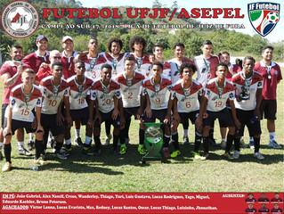 Asepel/UFJF sagra-se campeã Sub-17 da LFJF 2018