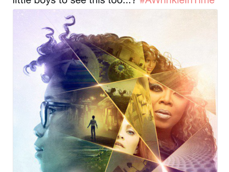 """YouTuber calls A Wrinkle in Time's poster too """"female"""""""