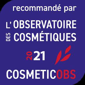 NOS PRODUITS RECOMMANDÉS PAR L'OBSERVATOIRE DES COSMÉTIQUES