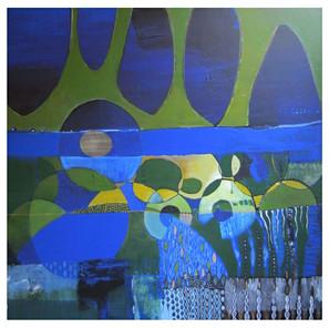 60x60 Acrylique sur toile